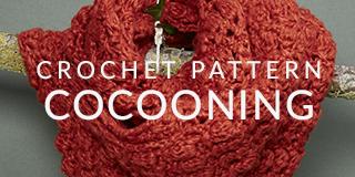 Large crochet snood